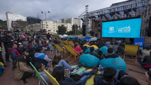 Cinemateca al parque - Foto: Cinemateca Distrital
