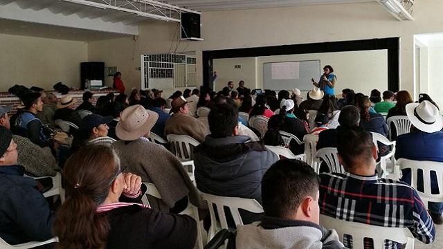 Socialización del POT. Foto: Prensa Planeación