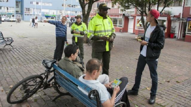 Código de Policía - Foto: Prensa Mebog