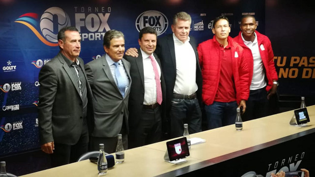 Rueda de prensa Copa Fox Sports 2019 - Foto: Fox Sports