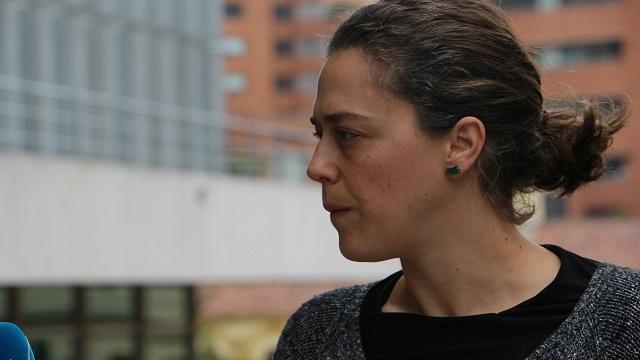 Cristina Vélez Valencia, secretaria de la Mujer de Bogotá.