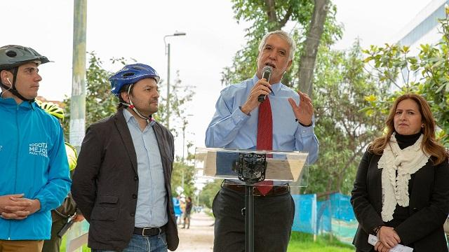 Declaraciones alcalde Enrique Peñalosa sobre bicitaxis - Foto: Comunicaciones Alcaldía / Andrés Sandoval