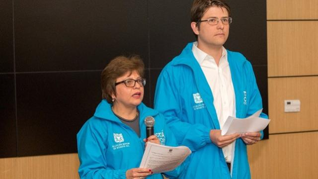 Declaraciones consulta taurina - Foto: Comunicaciones Alcaldía Bogotá / Andrés Sandoval