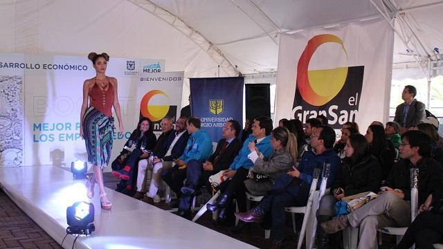 El diseñador Hernán Zajar lideró y asesoró la pasarela en el Voto Nacional.