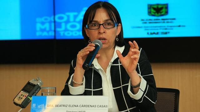 Directora de la UAESP - Foto: Comunicaciones Alcaldía Bogotá