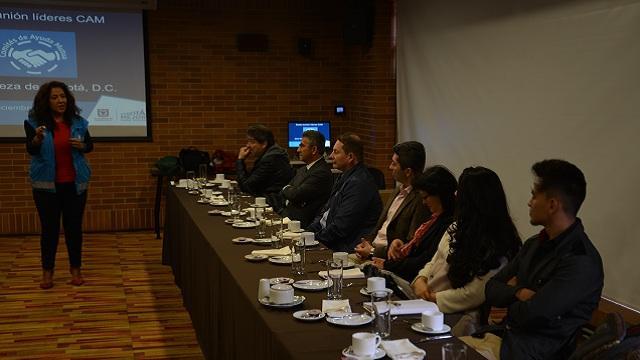 Este año se crearon siete Comités de Ayuda Mutua para atender emergencias. Foto: IDIGER