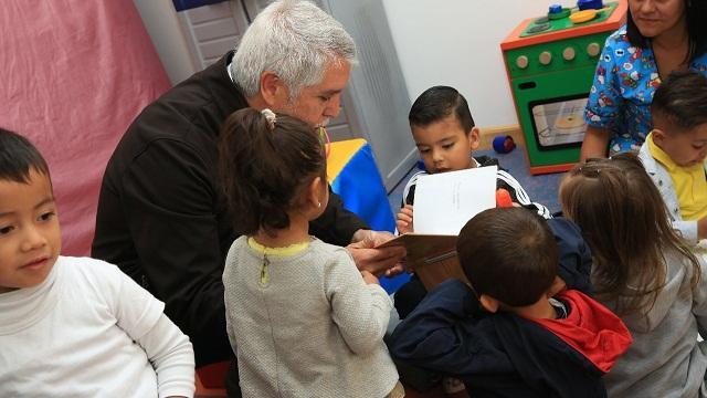 Jardines infantiles en Bogotá - Foto: Comunicaciones Alcaldía Bogotá / Diego Bauman