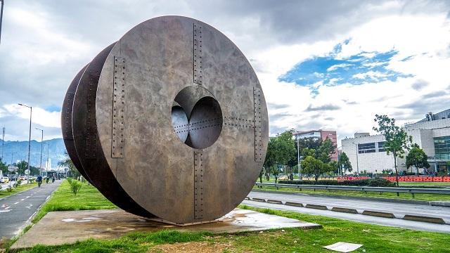 Escultura 'Eclipse' restaurada - Foto: IDPC