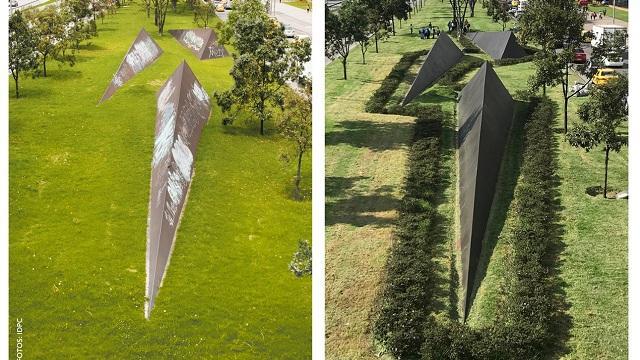 Escultura Longos, totalmente recuperada Foto: IDPC