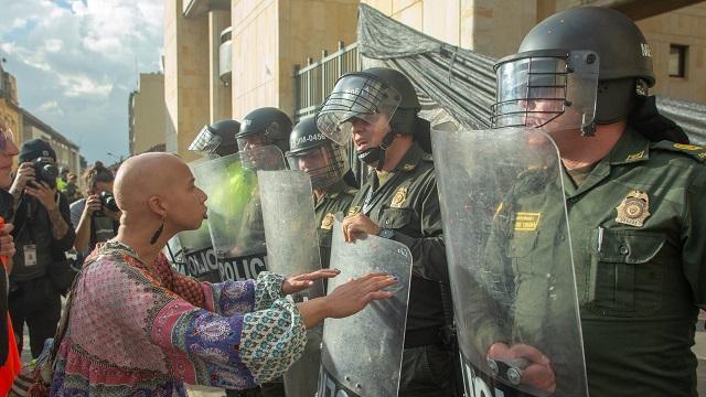 Actos vandálicos en protestas - FOTO: Consejería de Comunicaciones