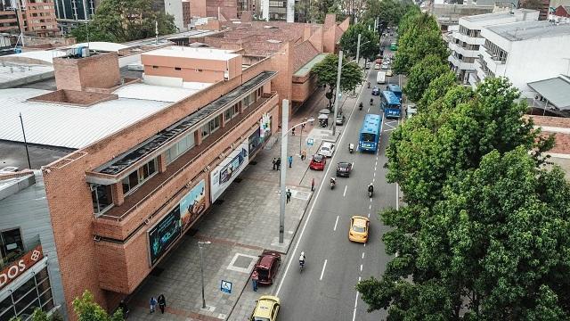 Intervención espacio público en Bogotá - Foto: Comunicaciones IDU