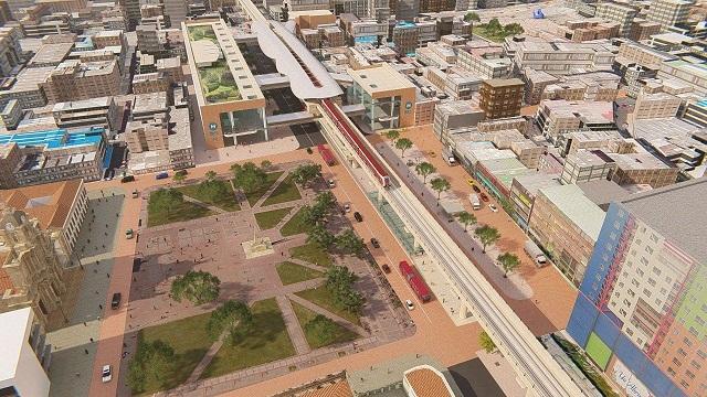Estación integrada del Centro Histórico -  Foto: Empresa Metro