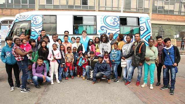 Etnobus - FOTO: Julio Granados/ Secretaría de Gobierno de Bogotá