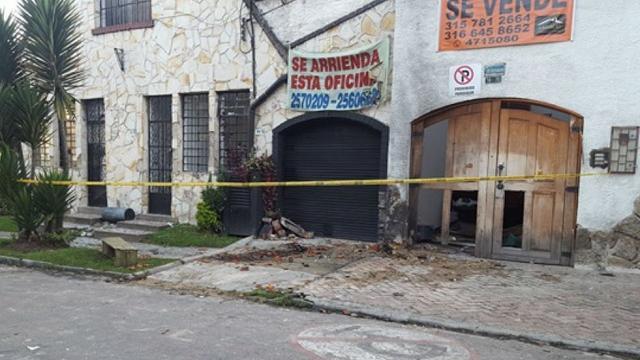 Explosión Teusaquillo - FOTO: Cortesía El Espectador