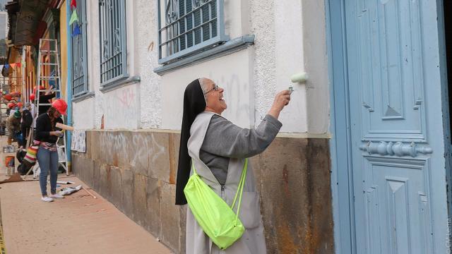 Recuperación de fachadas - Foto: Idpc