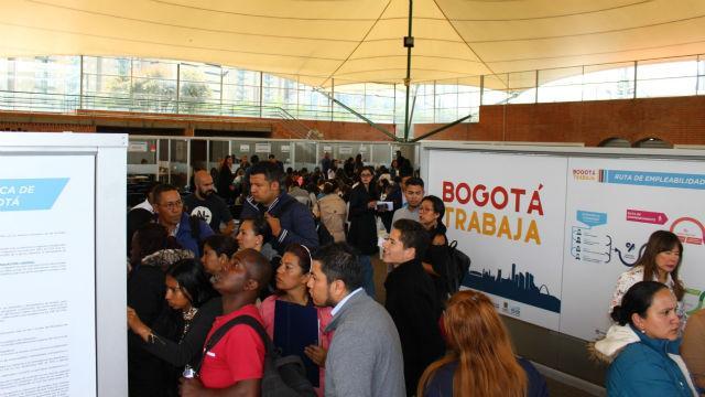 Resultado de imagen para FERIA DE EMPLEO BOGOTA