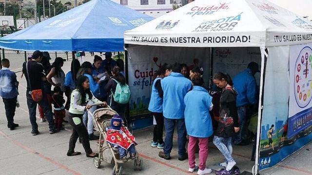 Feria de servicios Ciudad Bolívar - FOTO: Prensa Secretaría de Seguridad