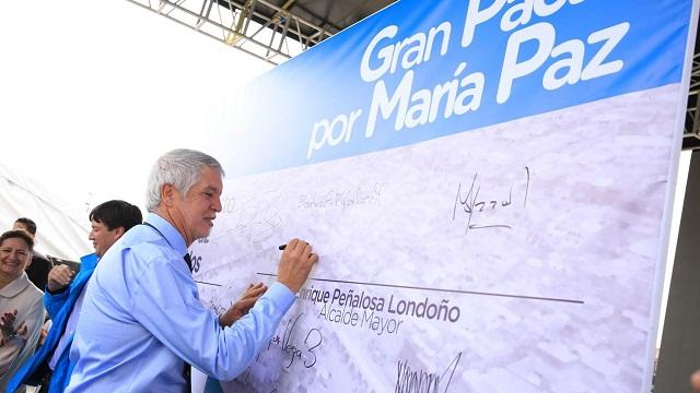 El Distrito comprará y legalizará predios para familias de María Paz - Foto: Alcaldía Mayor Bogotá