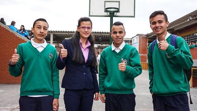 Estudiantes colegio Bogotá -  Foto: Prensa Secretaría de Educación