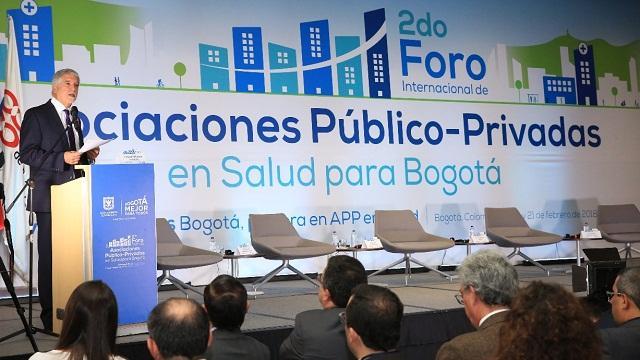 segundo Apertura Foro Internacional de Asociaciones Público Privadas en Salud  - Foto: Alcaldía Bogotá / Diego Bauman