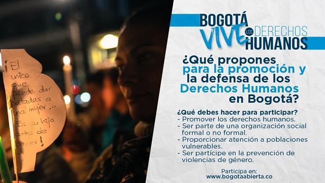 Convocatoria para iniciativas en derechos humanos - Foto: Secretaría de Gobierno