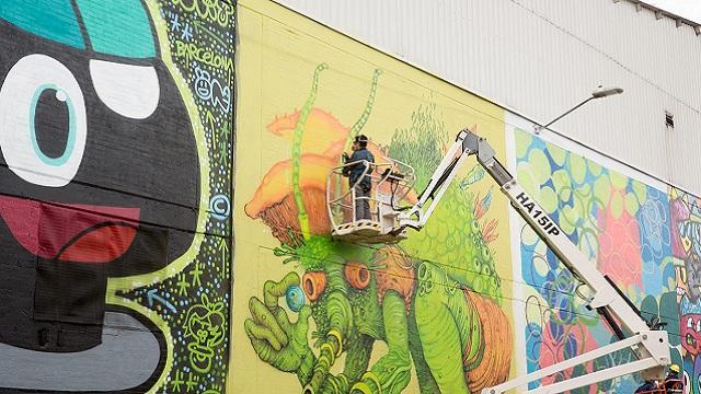 Distrito Grafiti en su segunda versión - Foto: Andrés Sandoval