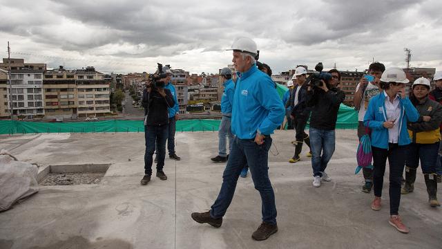 Avanzan obras del nuevo coliseo - Foto: Alcaldía Mayor de Bogotá.