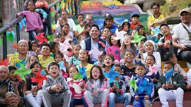 Con 'Habitarte' Alcaldía Peñalosa ha transformado ya 98 barrios en Bogotá