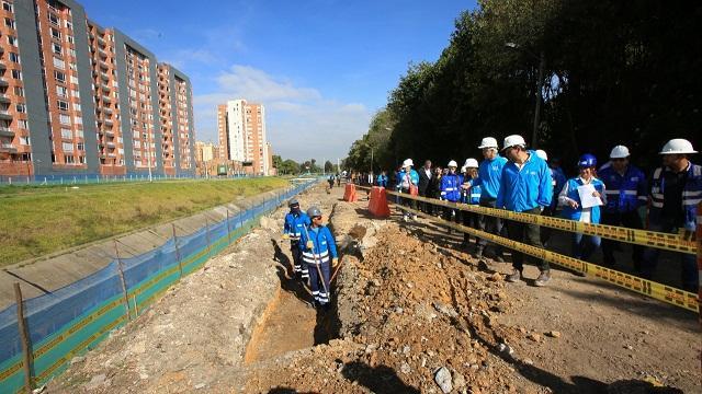 Inicio a las obras de ampliación de la Avenida La Sirena  - Foto: Comunicaciones Alcaldía / Diego Bauman