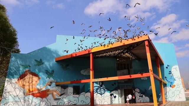 Colegio Gustavo Restrepo en Rafael Uribe Uribe - Foto: Comunicaciones Secretaría de Educación