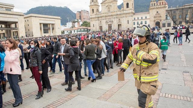 Simulacro Distrital de Evacuación este 24 de octubre - Foto: Diego Bauman