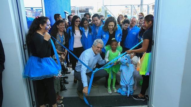 Entrega del jardín infantil Rueda de Colores que beneficia a 235 niños -  Foto: Comunicaciones Alcaldía