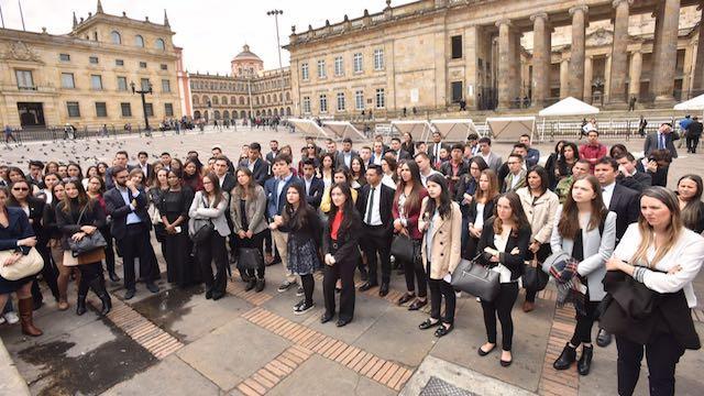 1.300 jóvenes de 196 países participan del OYW. Foto: Cámara de Comercio de Bogotá
