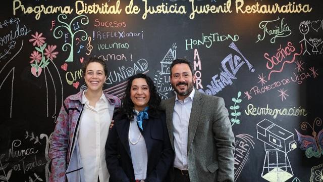 Justicia restaurativa - FOTO: Prensa Secretaría de Seguridad