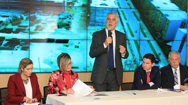 Lanzamiento de programa de vivienda PIVE - Foto: Comunicaciones Alcaldía Mayor de Bogotá