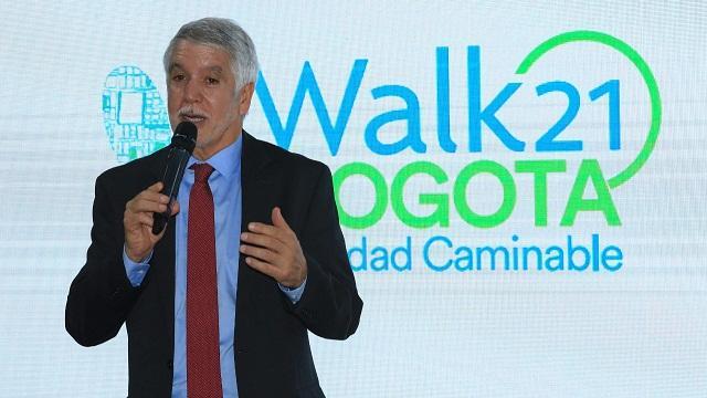 Lanzamiento  de actividades de Walk21 Bogotá Ciudad Caminable - Foto: Comunicaciones Alcaldía Bogotá / Diego Bauman