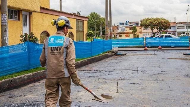 Mantenimiento de Malla Vial en Bogotá - Foto: Prensa UMV