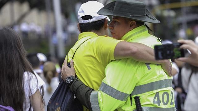 Así se vivió marcha contra el terrorismo en Bogotá - Foto: Comunicaciones Alcaldía Bogotá