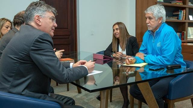 El alcalde se reunió con el ministro de Hacienda para revisar los detalles de las troncales que alimentarán el Metro de Bogotá