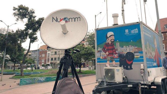 Monitoreo del aire - Foto: Secretaría de Salud
