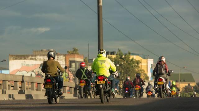 Motociclistas - Foto: Alcaldía Mayor de Bogotá