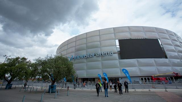 El Coliseo Movistar Arena de Bogotá, está listo para un concierto de prueba - Foto: Alcaldía Bogotá
