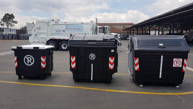 Nuevos contenedores de aseo en Bogotá
