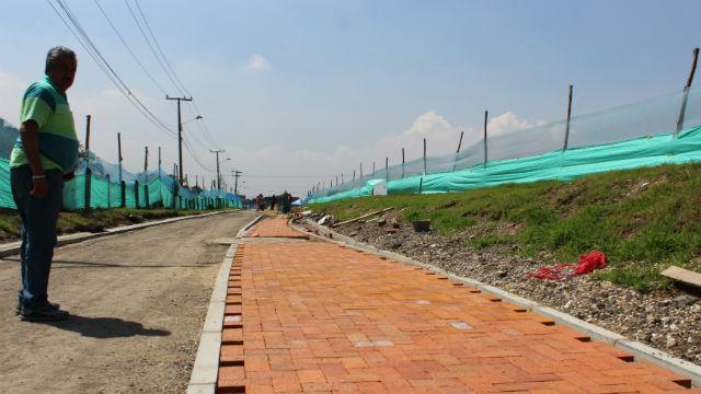Construcción de ciclorruta - Foto: Oficina de Prensa IDU