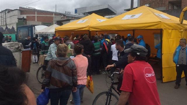 Esto ha ofrecido el Distrito a los recicladores y vendedores de María Paz. Foto: Alcaldía Mayor