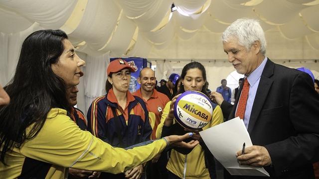 Lanzamiento de las olimpiadas Fides en Bogotá - Foto: Comunicaciones Alcaldía Bogotá
