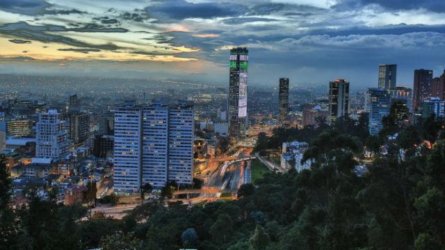 Panorámica de Bogotá - Foto: Alcaldía de Bogotá-Diego Bauman