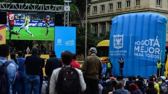 Pantallas en Parques - FOTO: Prensa IDRD