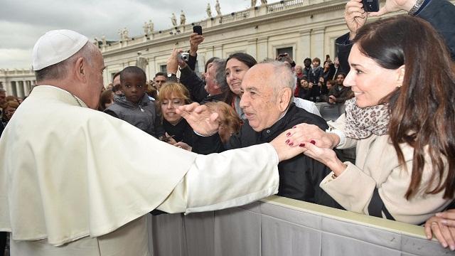 En septiembre, el Papa Francisco visitará por primera vez Bogotá. Foto: HazteOír.org/Flickr