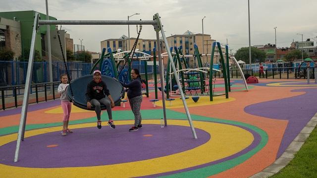 Parque La Esperanza en Bosa - Foto: Comunicaciones Alcaldía / Andrés Sandoval